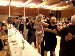 Event hall and dancers